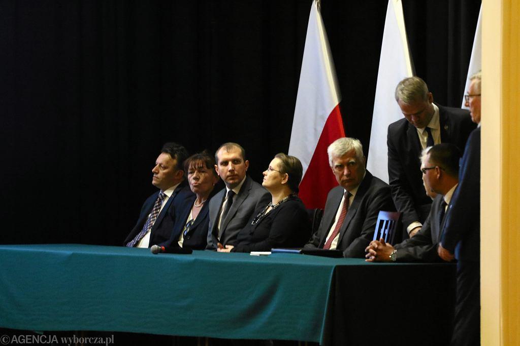 Konferencja podkomisji smoleńskiej w 7. rocznicę katastrofy