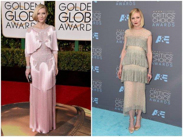 Cate Blanchett / Kirsten Dunst w stylu lat 20.