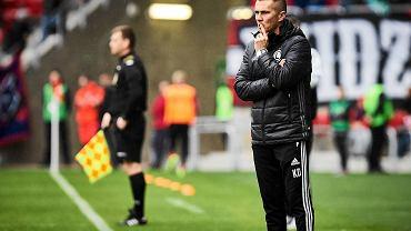 Trener Krzysztof Dębek
