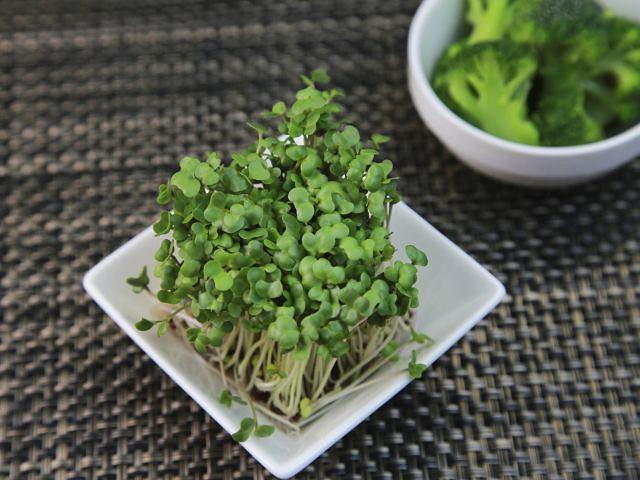 Kiełki brokuła zapewnią nam najwięcej sulforafanu.