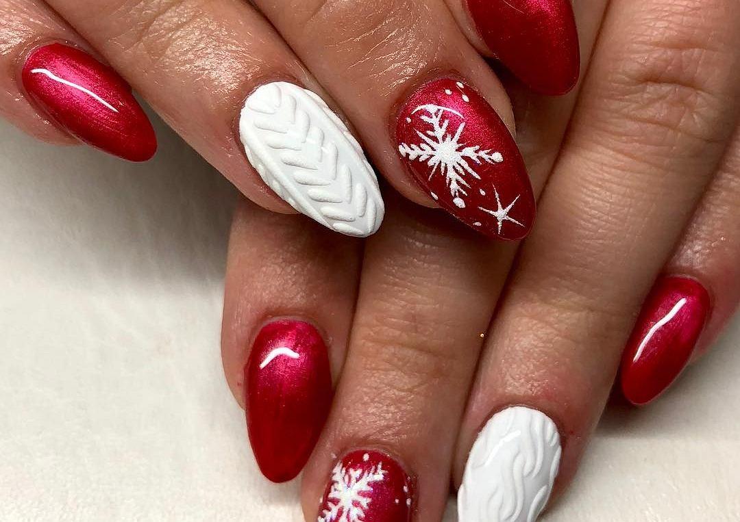 Zimowe Wzory Na Paznokciach Najlepsze Pomysly Na Grudniowy Manicure
