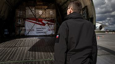 Premier Mateusz Morawiecki wita chiński sprzęt w Polsce