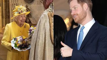 Królowa, książę Harry