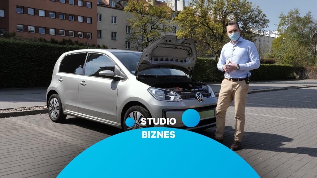Nowy VW e-up! w Studiu Biznes