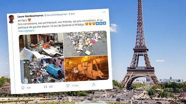 Paryż ma problem ze śmieciami