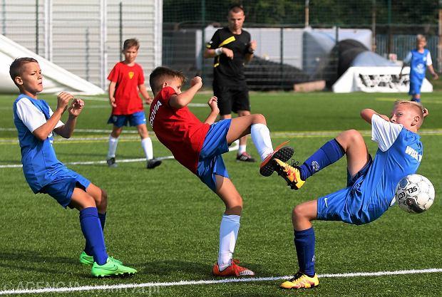 Puchar dla Litwinów. Międzynarodowe granie na stadionie Wisły [FOTO]