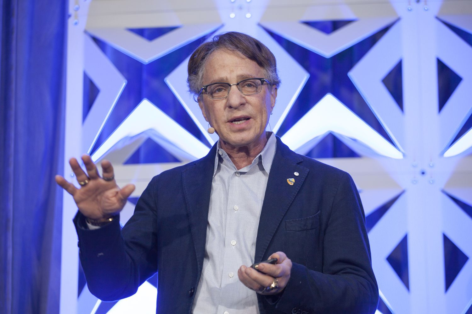 Ray Kurzweil w 2016 roku (fot. UMB Americas / flickr.com /CC BY-NC-ND 2.0)