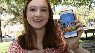 16-latka, która latami musiała jeść lunch sama stworzyła aplikację, aby pomóc osobom w jej sytuacji