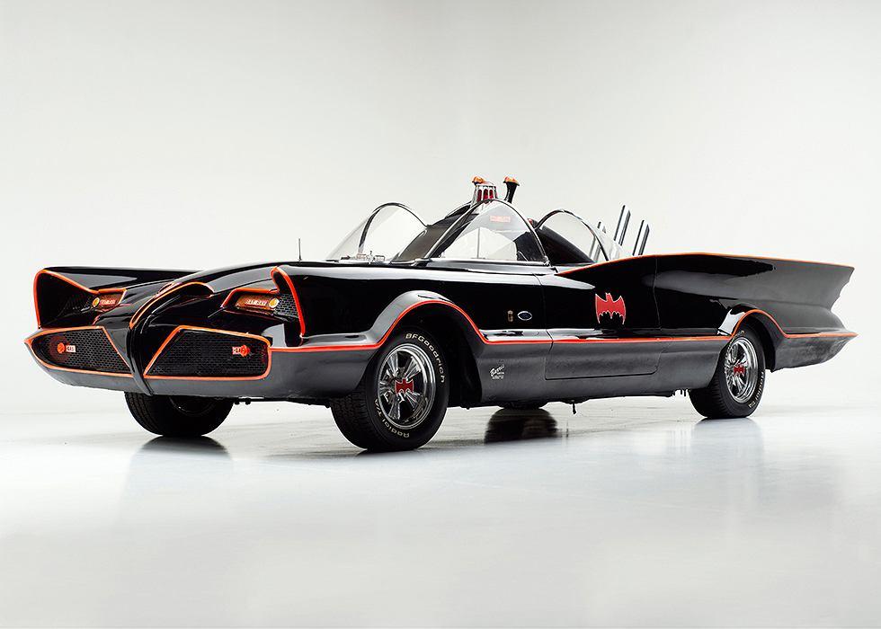 Oryginalny batmobil