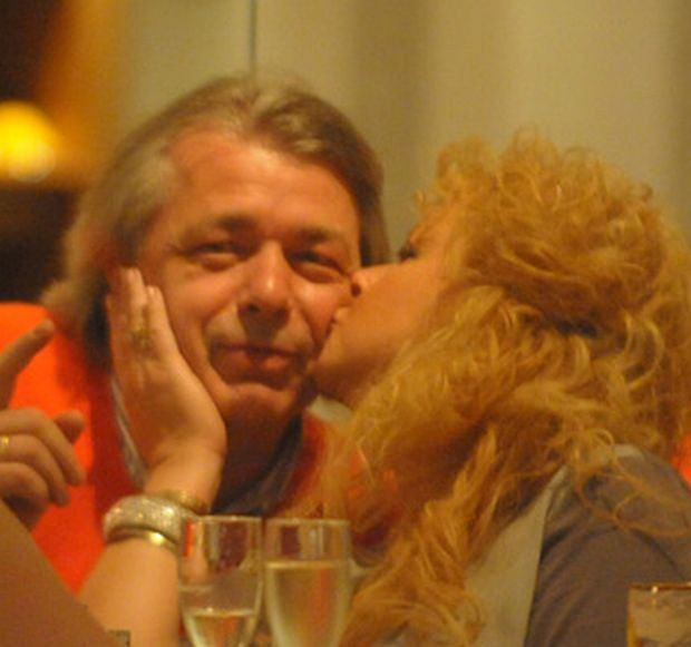 Magda Gessler, Waldemar Kozerawski, pocałunek, facet, związek