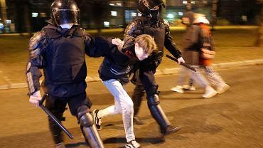 Protest w Petersburgu