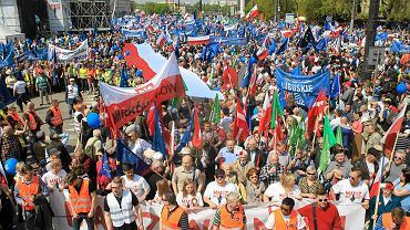 Marsz Wolności w Warszawie w 2017 r.