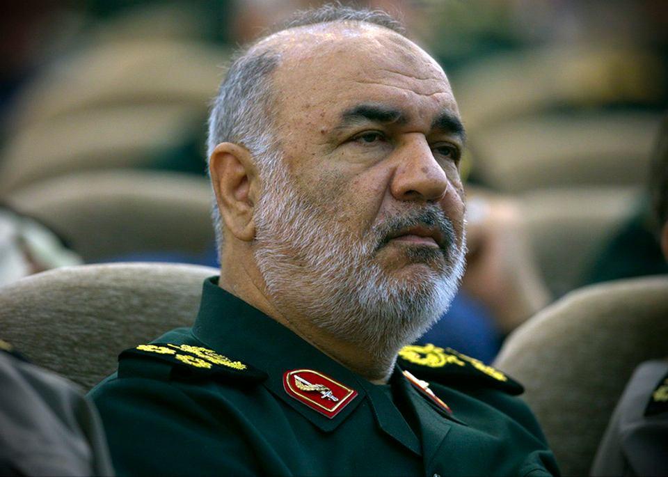 Szef Gwardii Rewolucyjnej gen. Hosejn Salami