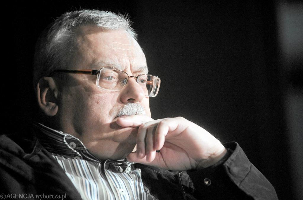 Krzysztof Sapkowski, syn Andrzeja Sapkowskiego, nie żyje. Na zdjęciu - Andrzej Sapkowski