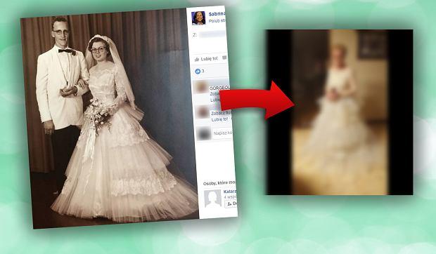 Miała ja na sobie podczas ślubu w 1957 roku. 60 lat później założyła ją po raz drugi [ZDJĘCIA]