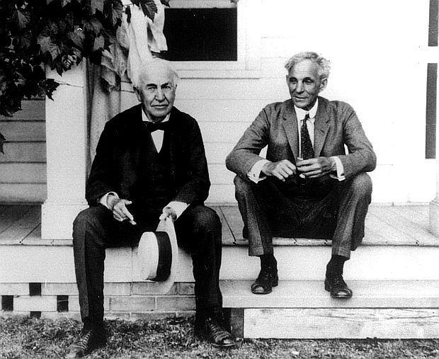 Dwóch wielkich: Thomas Edison i Henry Ford