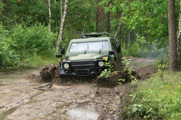 Wojskowy Mercedes G 280 CDI LAPV