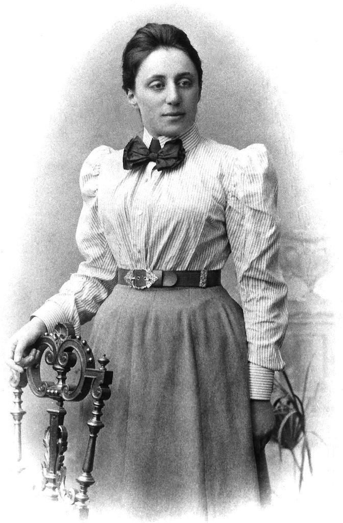 Emmy Noether upamiętniona na Google Doodle.