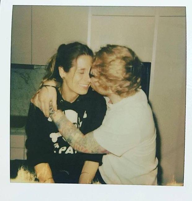 Ed Sheeran i jego szczęśliwa narzeczona
