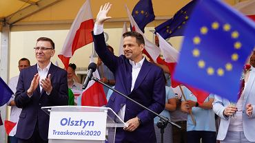 #Wiec wyborczy Rafala Trzaskowskiego