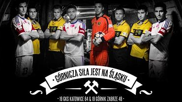 Piłkarze GKS-u Katowice i Górnika Zabrze