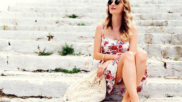 sukienki na lato we wzory