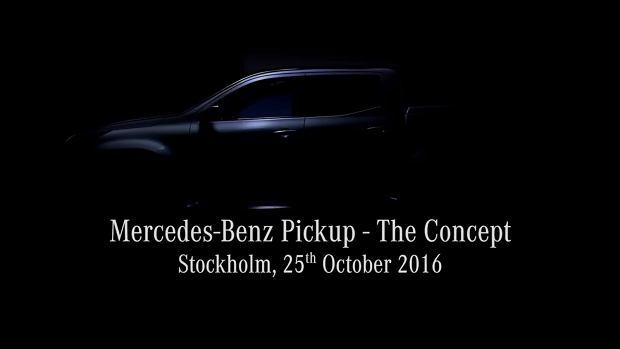 Teaser pickupa Mercedesa