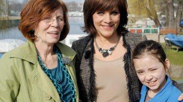 """Annegret R. z najmłodszą córką i prezenterką telewizji RTL Birgit Schrowange. Magazyn """"Extra"""" będzie towarzyszył kobiecie przez najbliższe miesiące"""