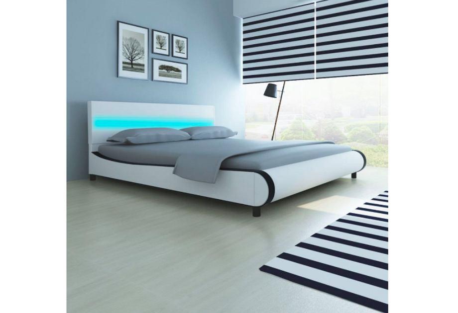Podświetlane łóżka I Stoliki Led Nowoczesny Styl Z Efektem