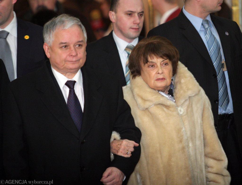 Jadwiga Kaczyńska, Lech Kaczyński