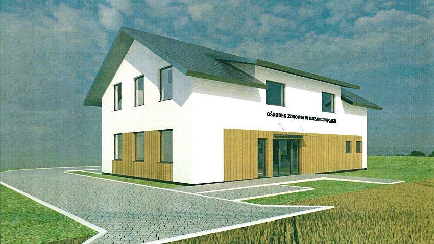 Tak ma wyglądać nowy ośrodek zdrowia w Mazańcowicach