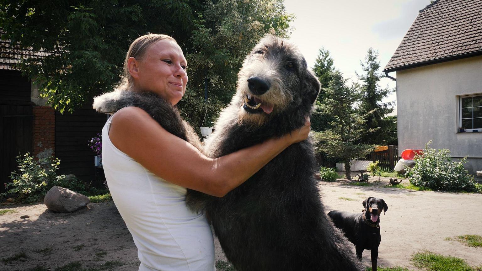 Katarzyna Chruściel, założycielka 'Okna życia dla psów'