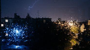 Burza w Gdańsku (zdjęcie ilustracyjne)