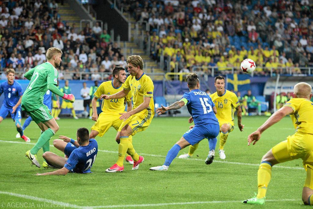 Euro U-21. Słowacja - Szwecja 3:0