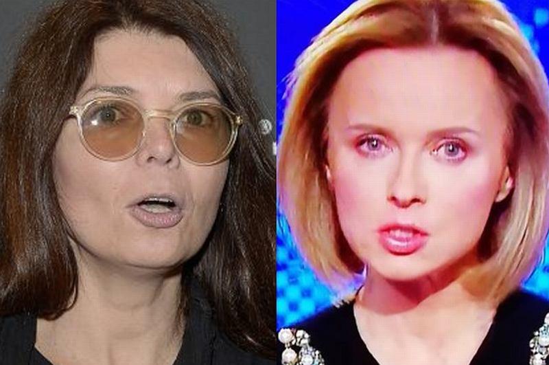 Dorota Wróblewska śmieje się z Jolanty Pieńkowskiej