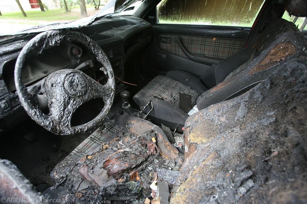 Spalone auto. Zdjęcie ilustracyjne