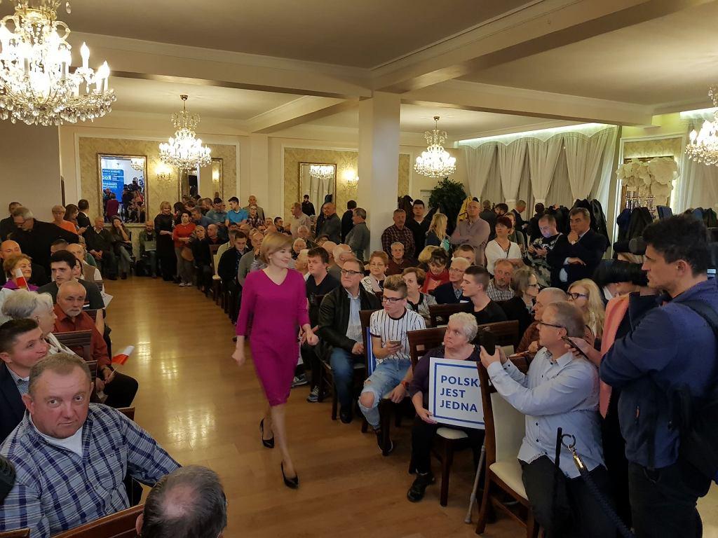 Spotkanie z Jarosławem Kaczyńskim w Skarżysku-Kamiennej, Anna Krupka, fot. Gazeta.pl