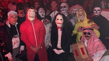 Piłkarze Bayernu Monachium podczas Halloween
