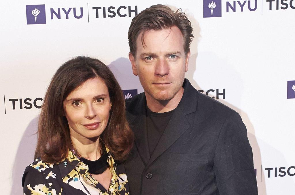 Ewan McGregor z żoną, Eve Mavrakis