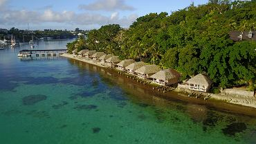 Vanuatu, wakacyjne bungalowy w Port Vila, stolicy kraju