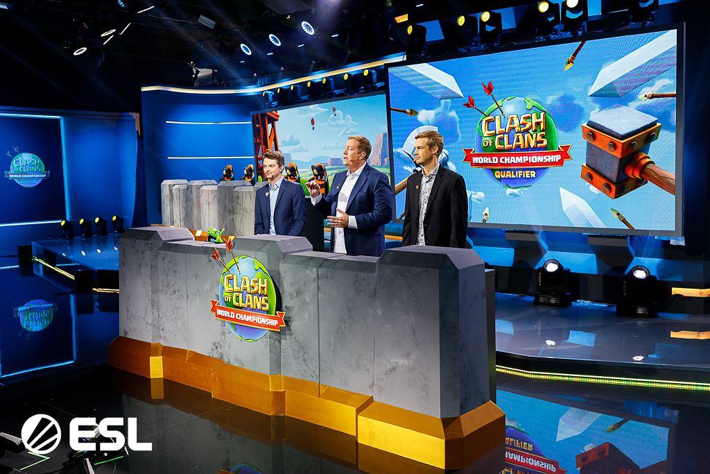 Studio telewizyjne rozgrywek Clash of Clans