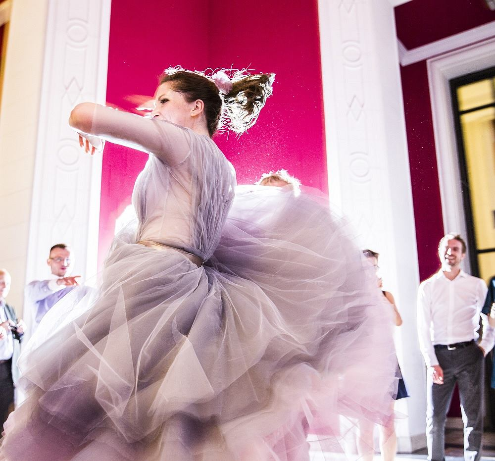 Natychmiast po wypowiedzeniu TAK udzieliła mi się niespotykana energia taneczna / fot. Marta Brodziak