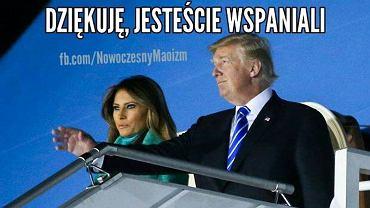 Donald Trump w Polsce - Memy