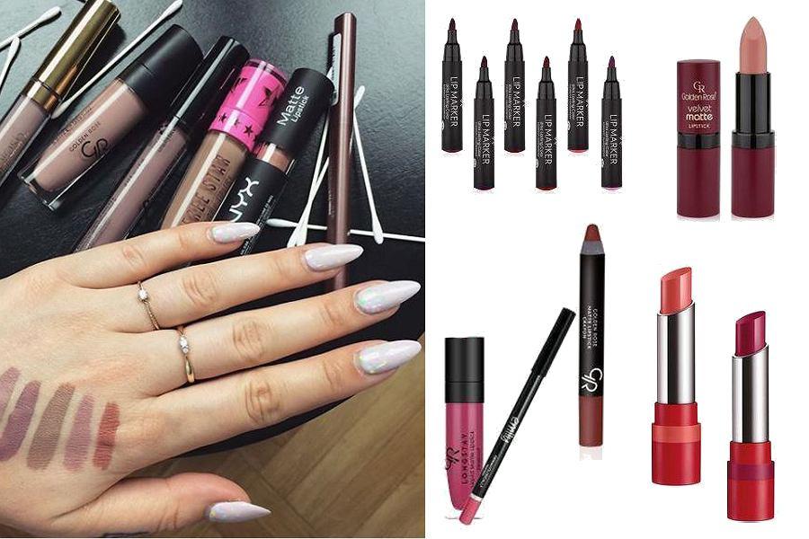 Kolaż, szminki/Materiały partnera