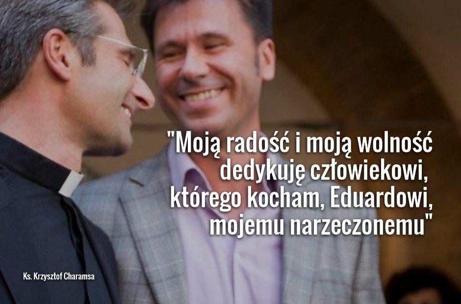 Coming out ks. Krzysztofa Charamsy