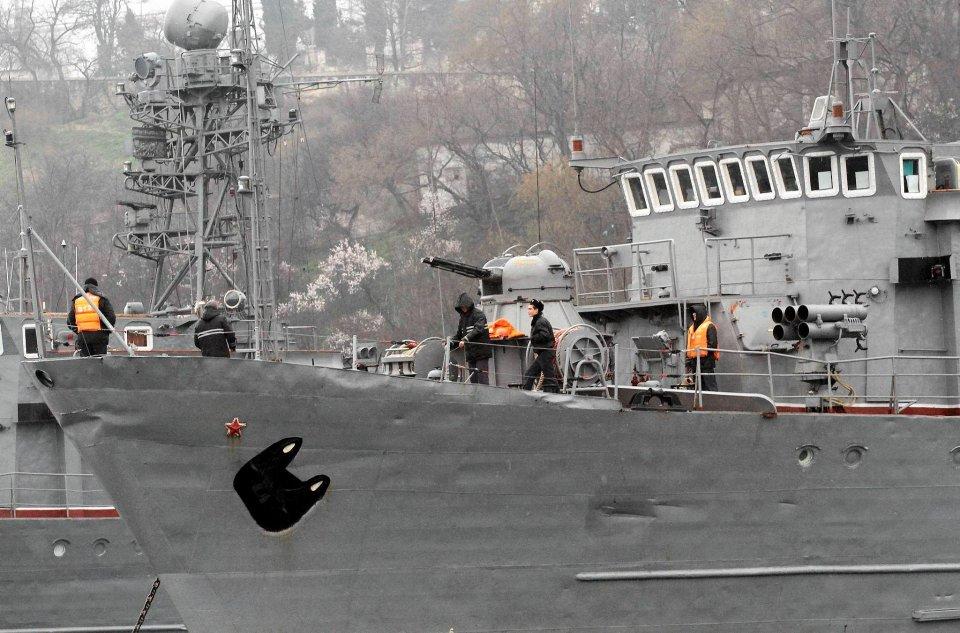 W Sewastopolu stacjonuje rosyjska Flota Czarnomorska.