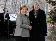 Brexit. Merkel po spotkaniu z May: Nie ma mowy o zmianie umowy. Tusk też komentuje