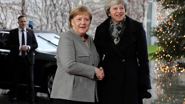 Theresa May i Angela Merkel