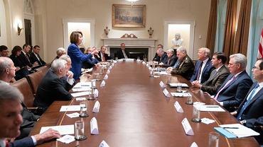 Spotkanie Nancy Pelosi i Donalda Trumpa