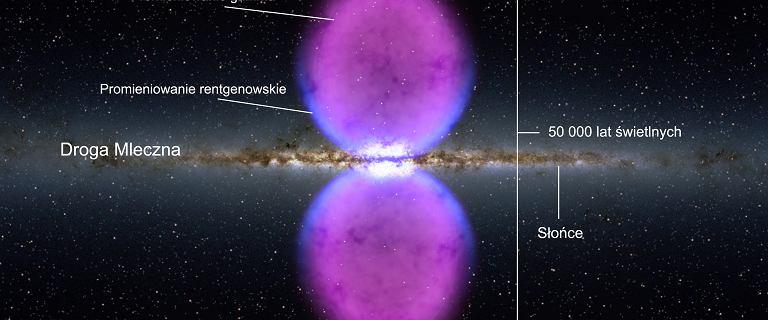 Kosmos. Droga Mleczna została rozerwana przez wybuch 3,5 miliona lat temu